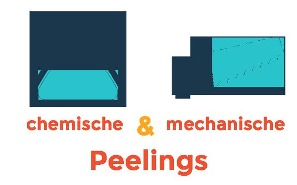 Chemische und mechanische Peelings